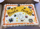 What's a party without a cake??