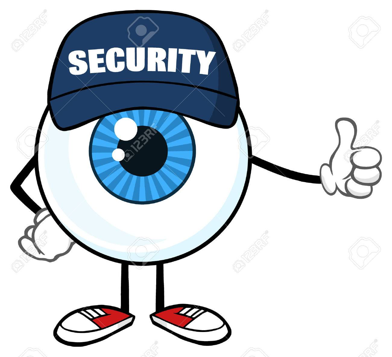 61548008-blue-eyeball-cartoon-mascot-character-security-guard-giving-a-thumb-up-illustration-isolated-on-whit